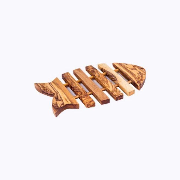 Fish Trivet wood