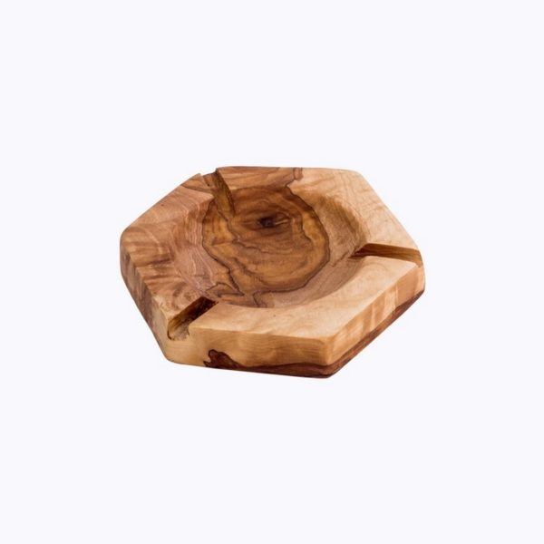 Hexagonal Ashtray wood