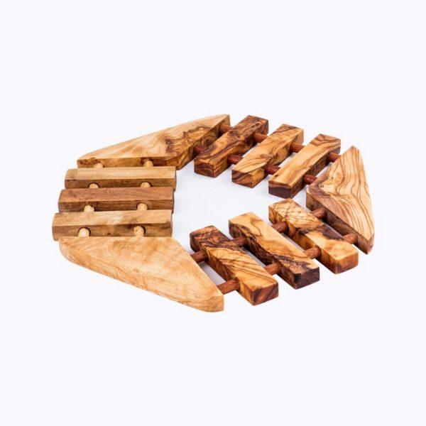 Hexagonal Trivet wood