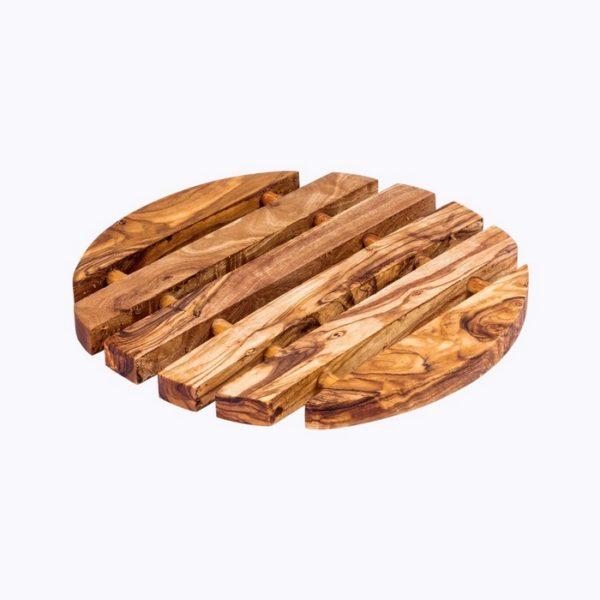 Round Trivet wood